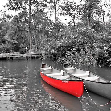 The LIttle Red Canoe by AngelPhotozzz