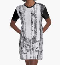 Forest Walker Graphic T-Shirt Dress