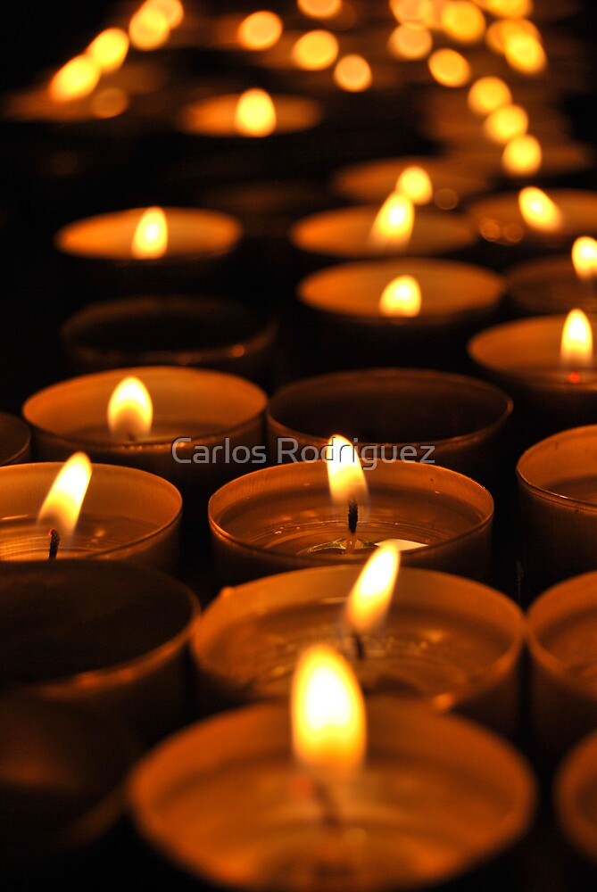 Candles by Carlos Rodriguez