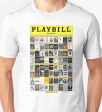 Broadway Playbill Collage Unisex T-Shirt