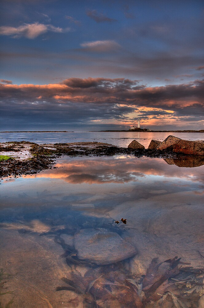 Water reflections by james  thow
