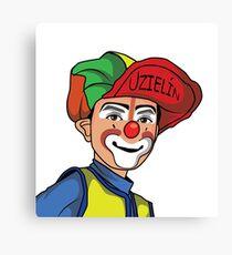 Clown - Circus - Lusitger Clown Canvas Print
