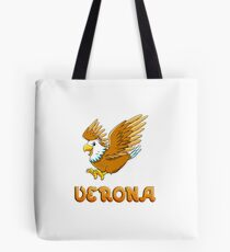 Verona Eagle Sticker Tote Bag