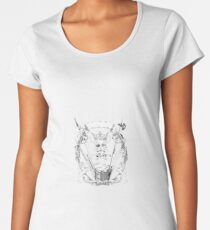 skull Women's Premium T-Shirt