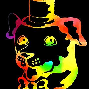 Fancy Rainbow Dog by mydragonzeatyou