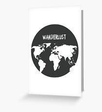 Wanderlust Globe Greeting Card