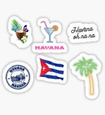 havana sticker pack Sticker