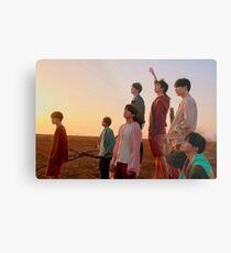BTS - LOVE YOURSELF 轉 'TEAR' [GROUP - Y.Ver] Metal Print