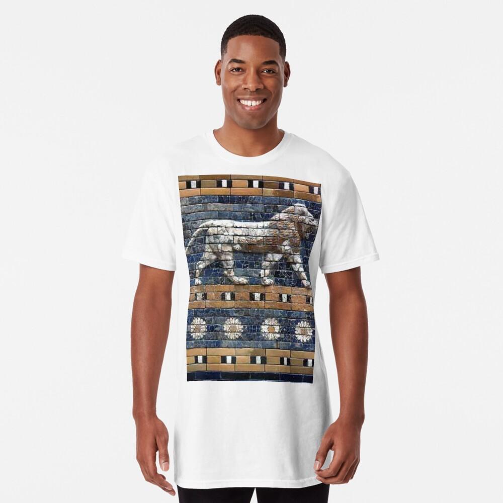 BABYLON, Gates of Babylon, Detail of the Ishtar Gate reconstruction Long T-Shirt