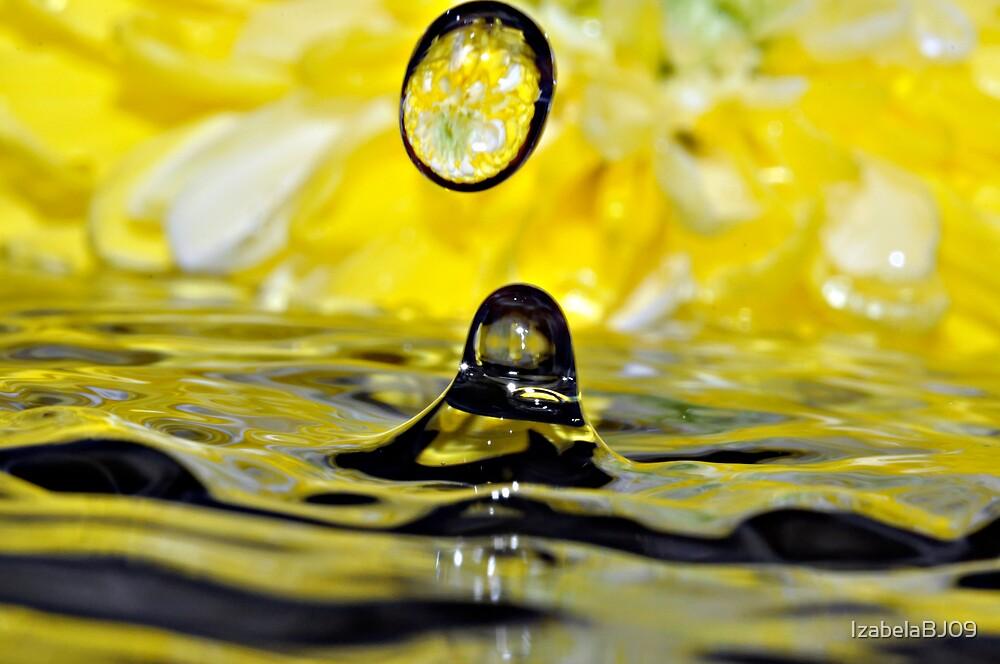 Water drops by IzabelaBJ09