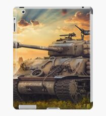 Fury M4 Sherman Battle Tank  iPad Case/Skin