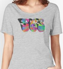 PEACE, LOVE, AND THE  563 Women's Relaxed Fit T-Shirt