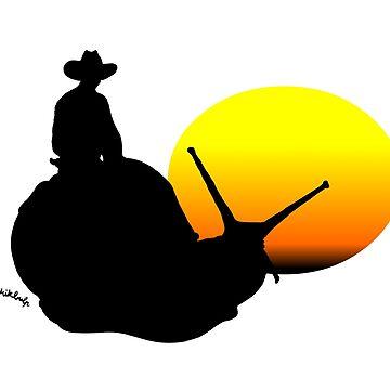 snail rider by Mikbulp