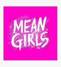 mean girls logo w/ doodles Photographic Print