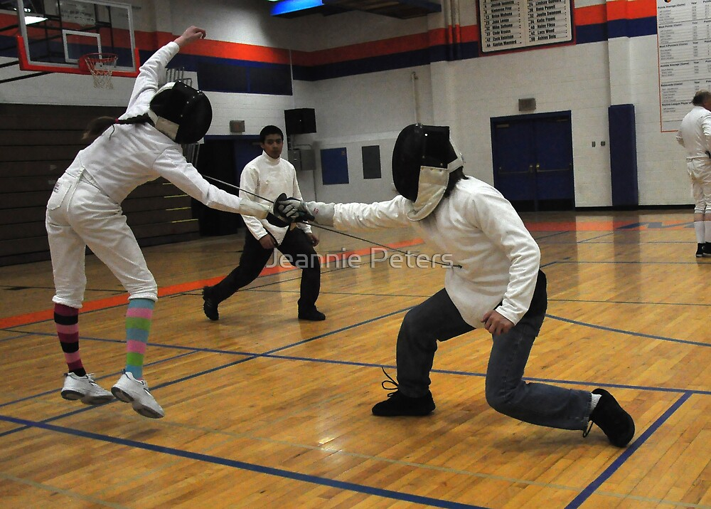 fencing by Jeannie Peters