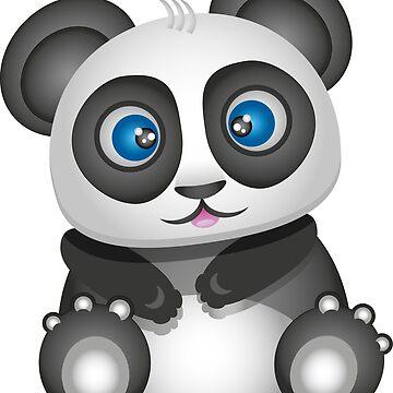 panda by victoriaArt