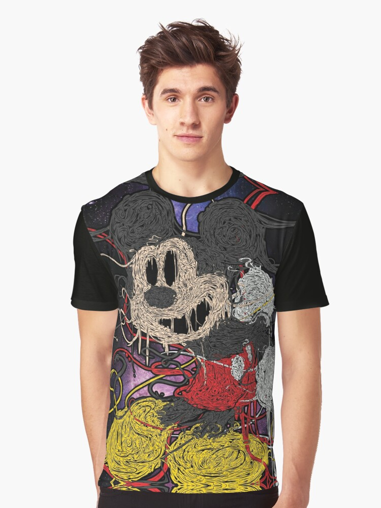 Spagh3tti IVIick3y Graphic T-Shirt Front