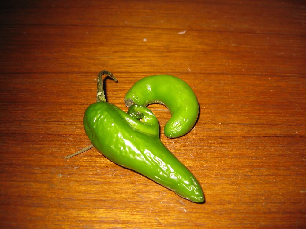 Happy Peppers by Greg Kaczynski