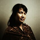 The Portrait of Dwi Rahmania by irenaeus herwindo