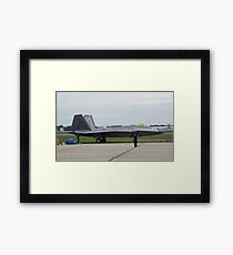 Heavy Weight Champ Framed Print