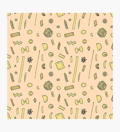 Pasta pattern Impression photo