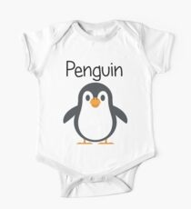 Pengy Penguin One Piece - Short Sleeve