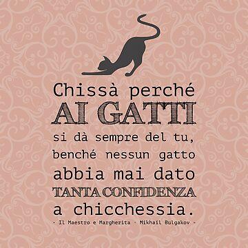 Il Maestro e Margherita [Italian book quote] - Mikhail Bulgakov by sonosololibri83