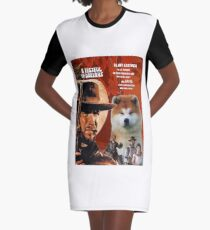 Akita - A fistful of dollars  Movie Poster Graphic T-Shirt Dress