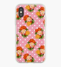 Floral and Polka dots iPhone Case