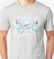 Gewaschene Jolly Roger Unisex T-Shirt