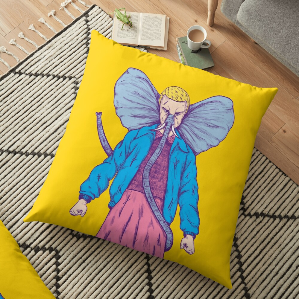 Elevhant Floor Pillow