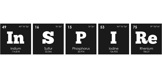 qumica elementos de la tabla peridica inspire de thisonashirt