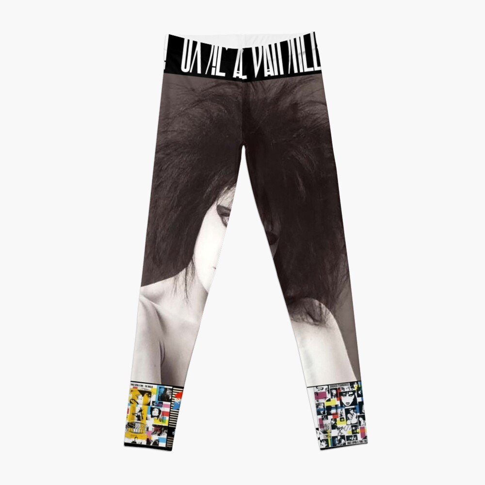 Siouxsie and the Banshees - Siouxsie Sioux framed in Album Covers 2 Leggings