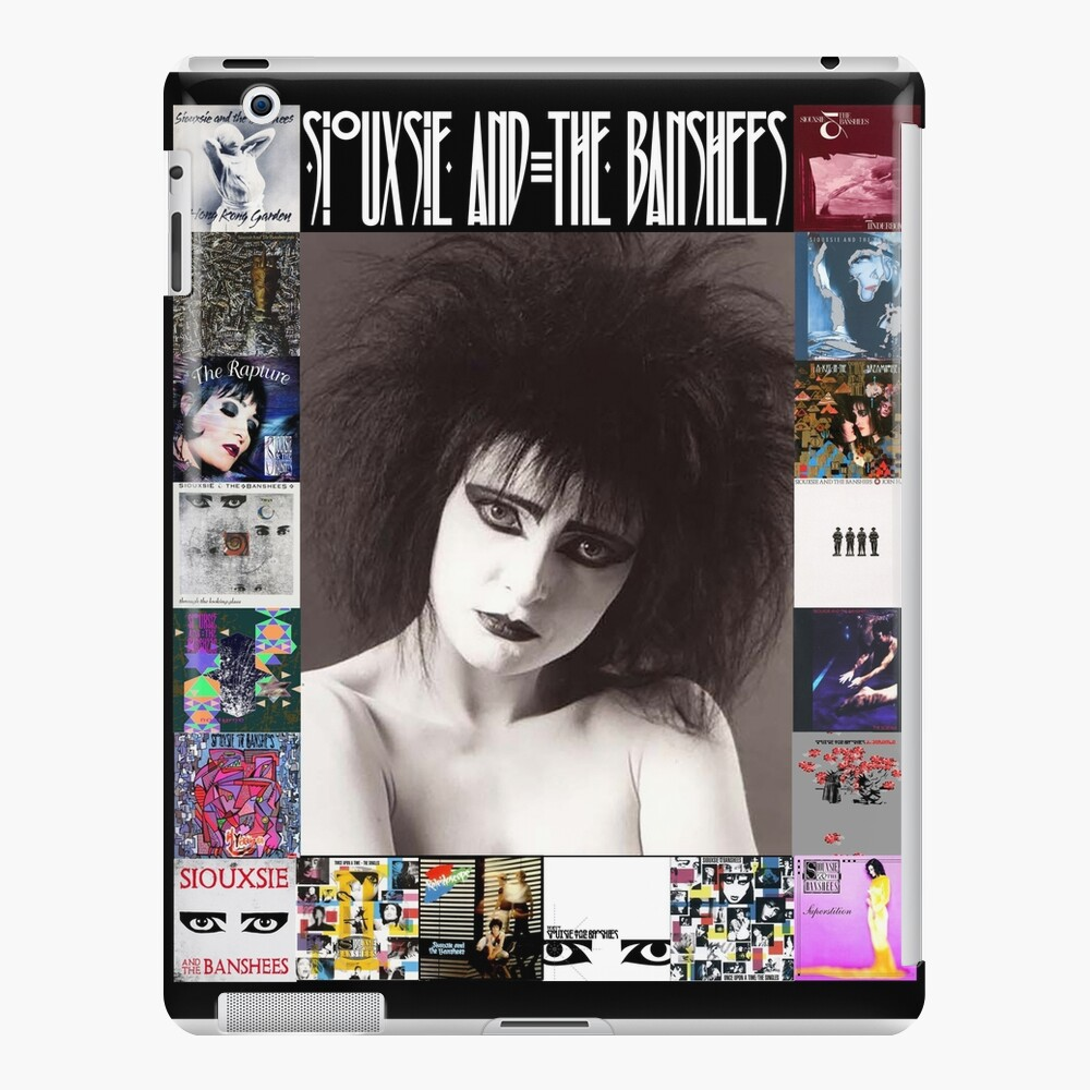 Siouxsie and the Banshees - Siouxsie Sioux framed in Album Covers 2 iPad Case & Skin