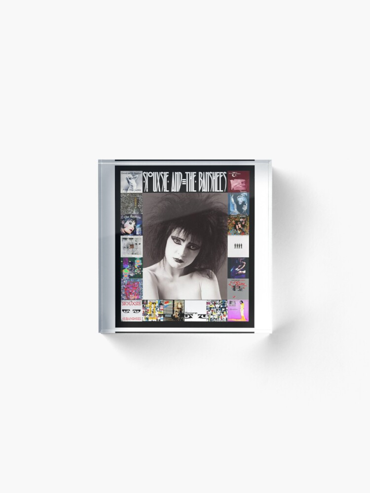 Alternate view of Siouxsie and the Banshees - Siouxsie Sioux framed in Album Covers 2 Acrylic Block