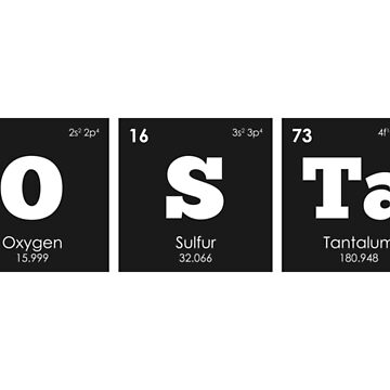 Chemistry - Elements of the Periodic Table: HOSTAGE by ThisOnAShirt
