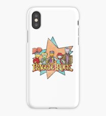 Fraggle Rock Fraggles Vintage Distressed 80s Faded iPhone Case
