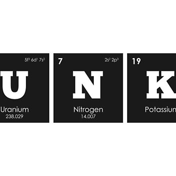 Chemistry - Elements of the Periodic Table: FUNKY by ThisOnAShirt