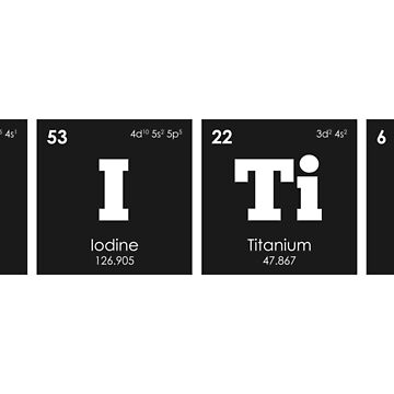 Chemistry - Elements of the Periodic Table: CRITIC by ThisOnAShirt
