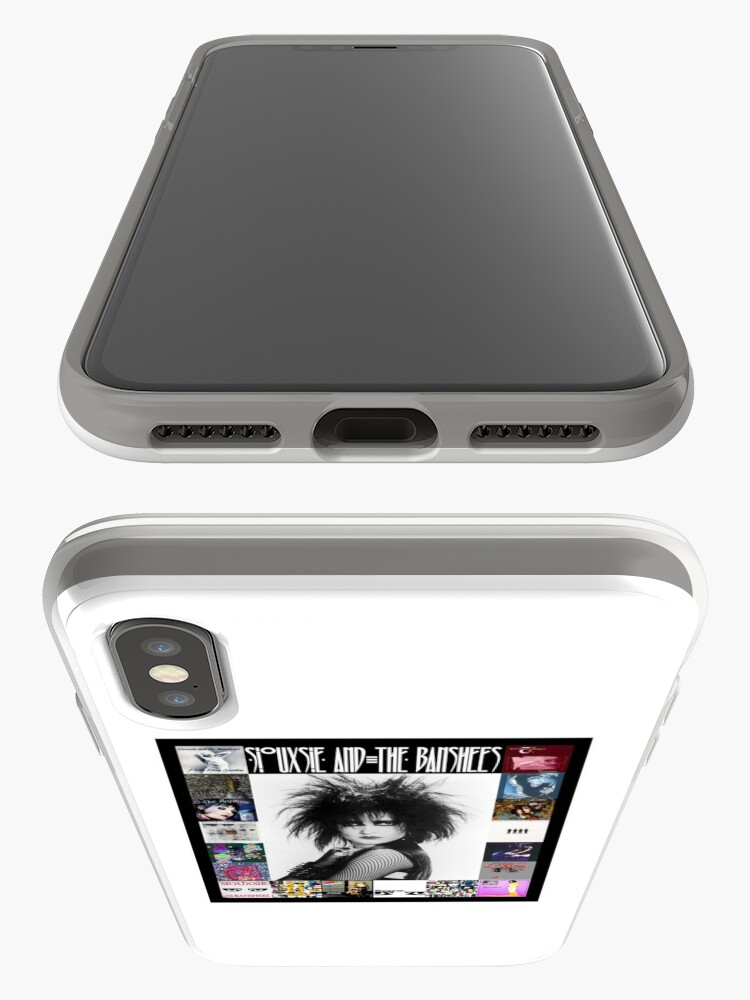 Alternate view of Siouxsie and the Banshees - Siouxsie Sioux framed in Album Covers 3 iPhone Case & Cover