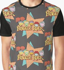 Fraggle Rock Fraggles 80s Muppets Graphic T-Shirt