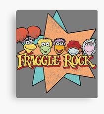 Fraggle Rock Fraggles 80s Muppets Canvas Print