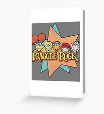 Fraggle Rock Fraggles 80s Muppets Greeting Card
