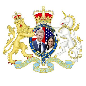 Prince Harry and Meghan Markle Wedding by Drewaw