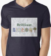Brilliant Biology Men's V-Neck T-Shirt
