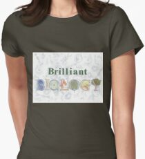 Brilliant Biology Women's Fitted T-Shirt