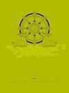 Dharmachakra – Wheel of Law by Thoth Adan