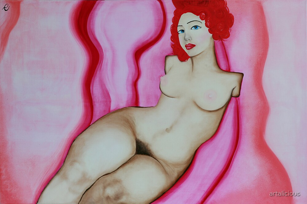 Ego in Pink #1 by artalicious