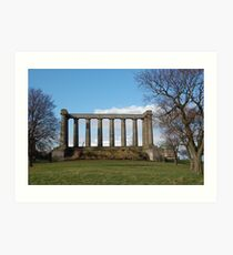 Scotland Ruin Art Print