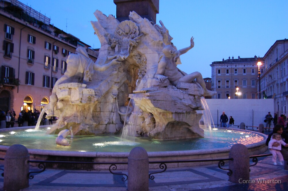 Italy, Rome by Corrie Wharton